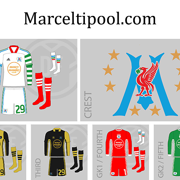 adidas Marceltipool.com 2020 League of Blogacta Kits and Crest