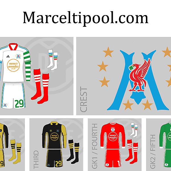 adidas Marceltipool.com 2020 League of Blogacta Kits and Crest