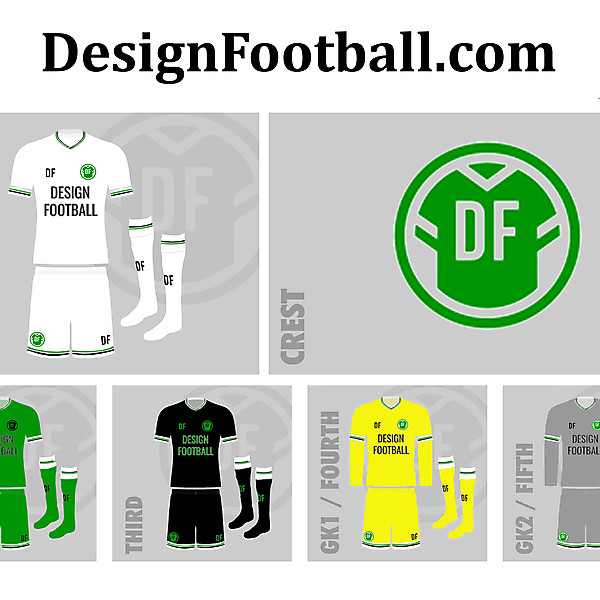 DF DesignFootball.com 2020 League of Blogacta Kits and Crest