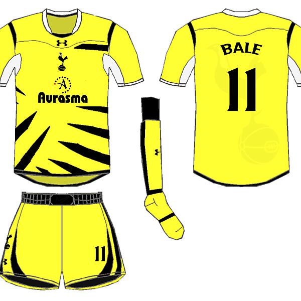 Tottenham Fourth Kit - Wighty93
