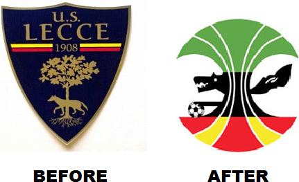 New US Lecce Crest
