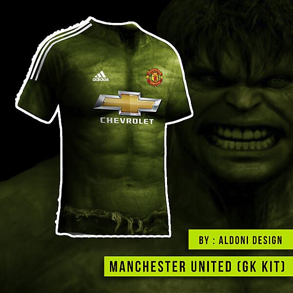 Manchester United Ugly kit ft. hulk