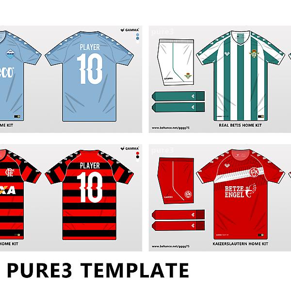 pure3 gamma template