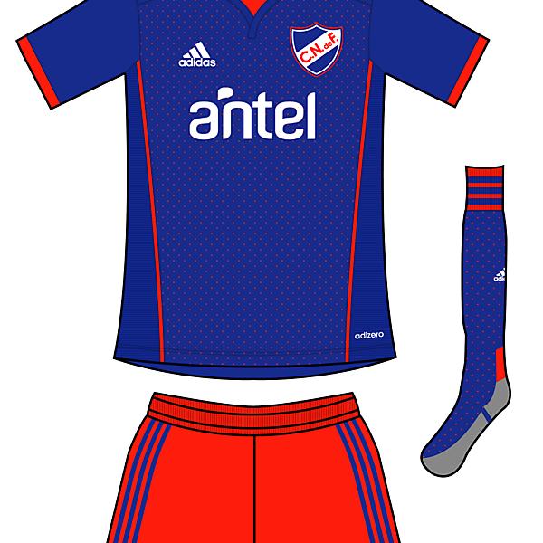 C. Nacional de F. Away Kit