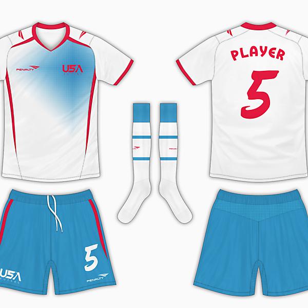 USA Futsal Home Kit - Vibrant Colours