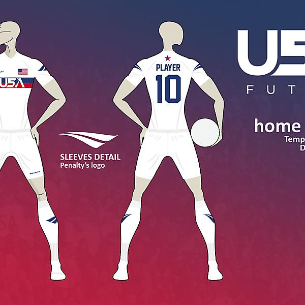 USA Futsal home kit v01 *PENALTY*