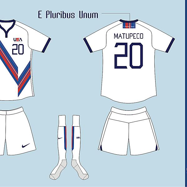 USA Futsal Home kit Version 03