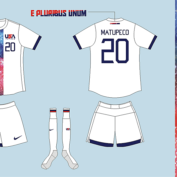 USA Futsal Home kit Version 05