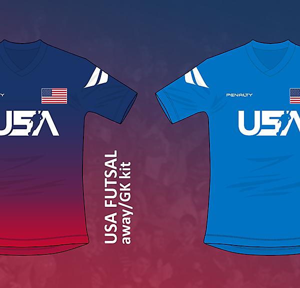 USA Futsal kits v02