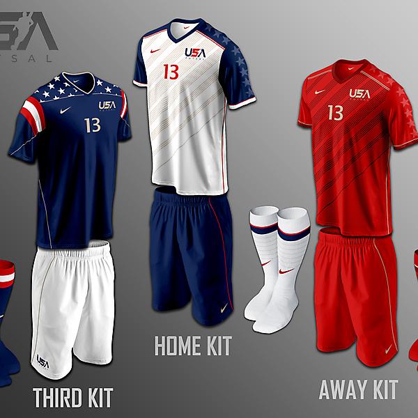 USA Futsal kits v1