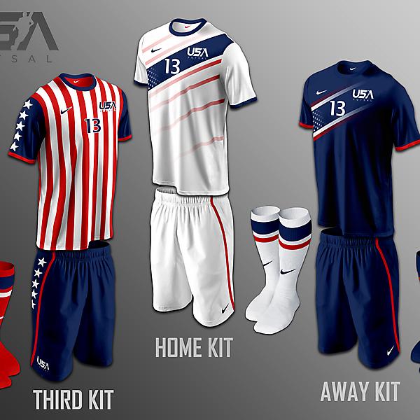 USA Futsal kits v2