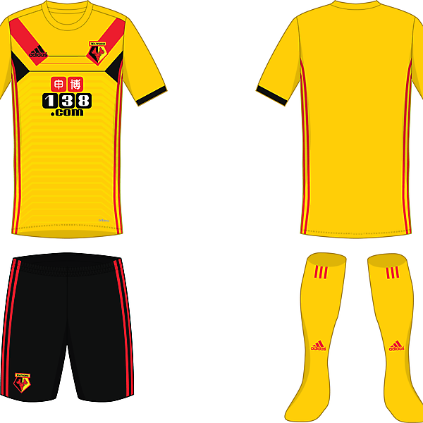 Watford - home shirt