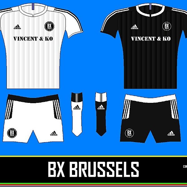 BX BRUSSELS HOME +AWAY