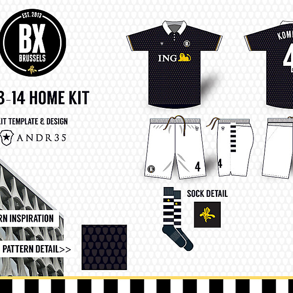 BX Brussels H-A-T Kits
