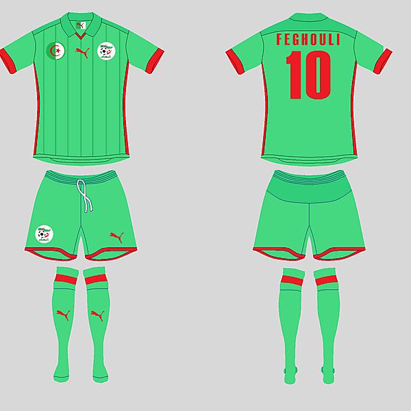Algeria Away kit