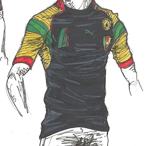 Cameroon - WC14 away