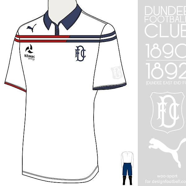 Dundee FC 1890-1892