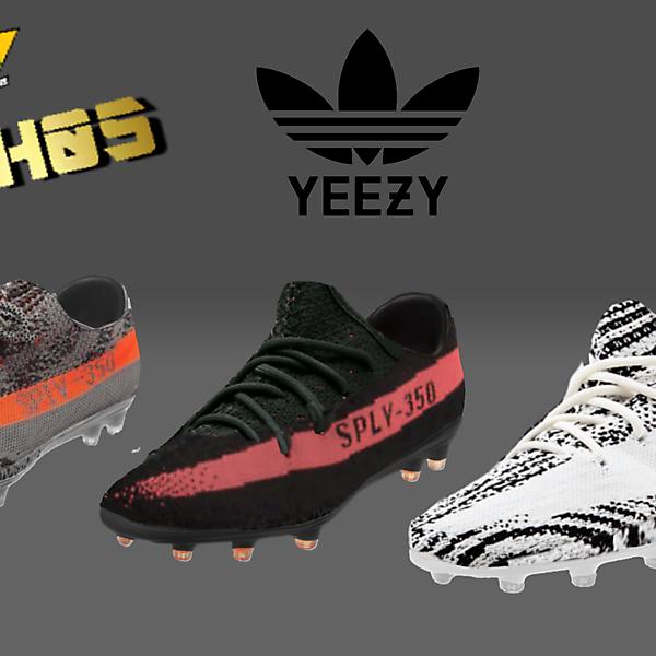 Adidas Yeezy 350 V2 Football Boots by NACH05
