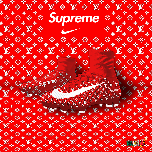 Supreme X Louis Vuitton Nike Superfly V by Nachos