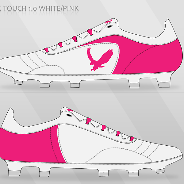 Hawk Touch 1.0 White/Pink