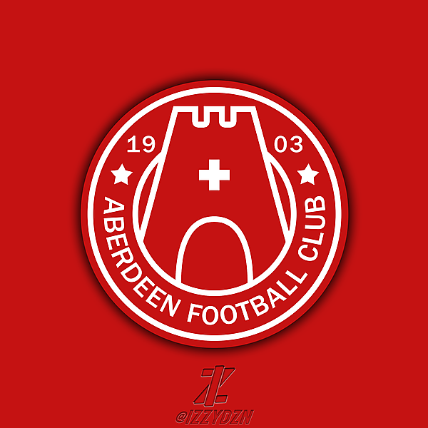 Aberdeen FC Crest Redesign