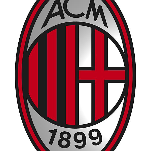 AC Milan logo modernisation