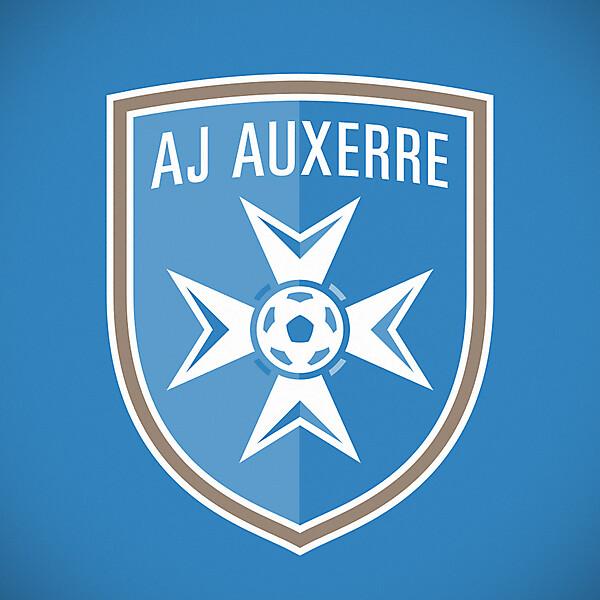 AJ Auxerre crest