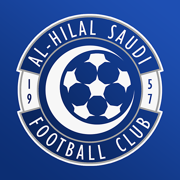 Al-Hilal Saudi FC | Crest Redesign