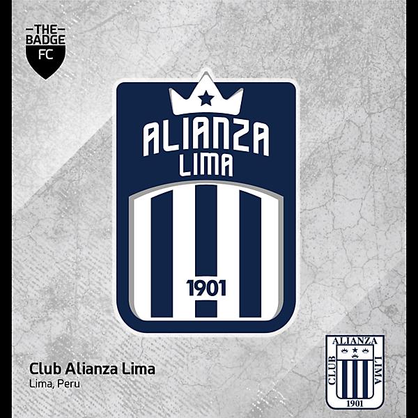 Alianza Lima Badge Redesign