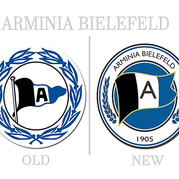 Arminia Bielefeld Rebrand