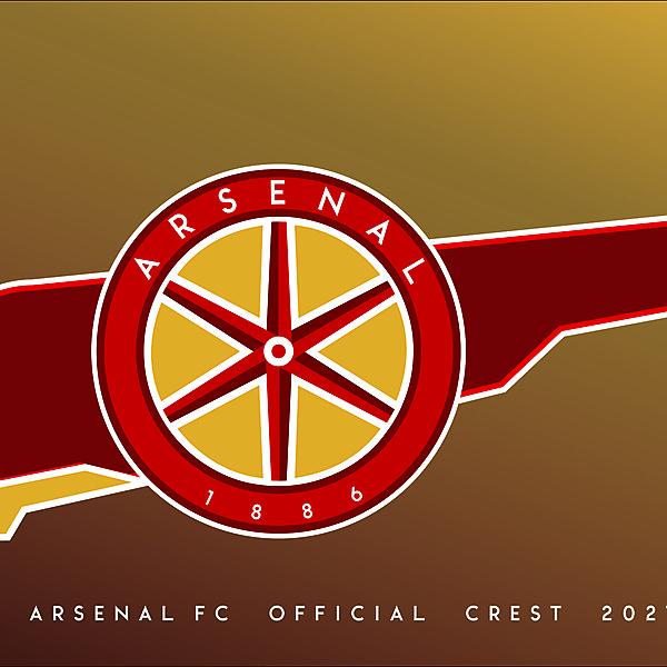 Arsenal F.C. Crest Redesign  202`1