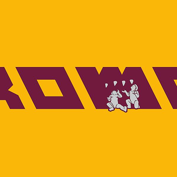 AS Roma logo.