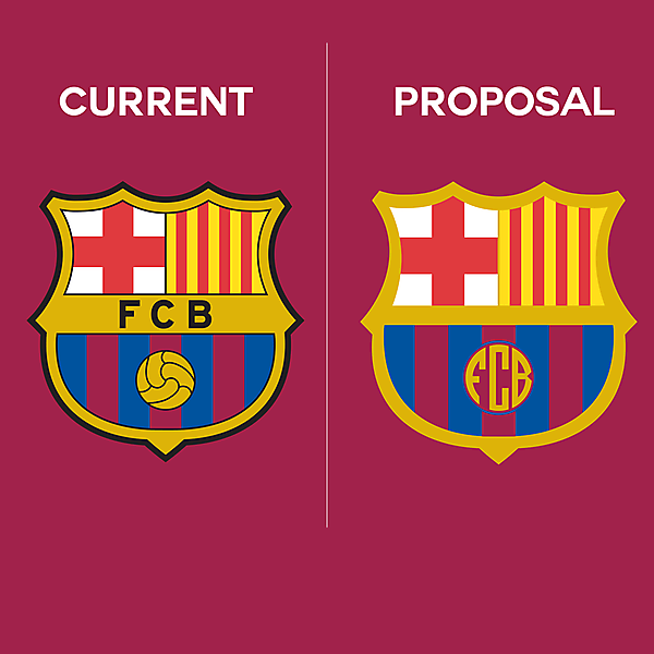Barcelona Logo Redesign