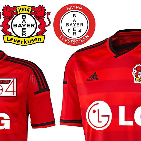 Bayer 04 Rebrand Examples