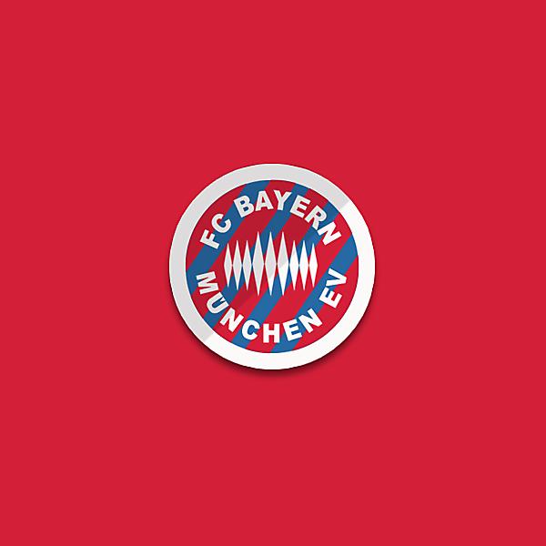 Bayern logo redesigned.