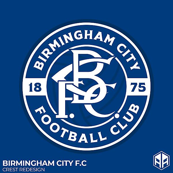 Birmingham City F.C crest redesign