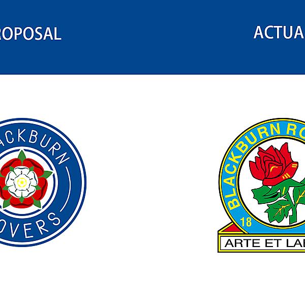 Blackburn Rovers - Logo redesign