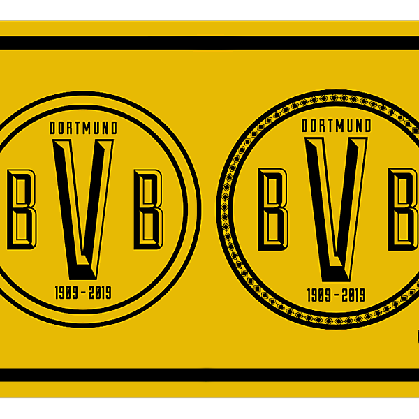 Borussia Dortmund Crest Redesign III