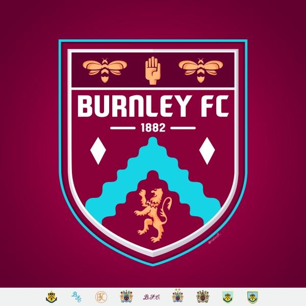 Burnley FC crest concept