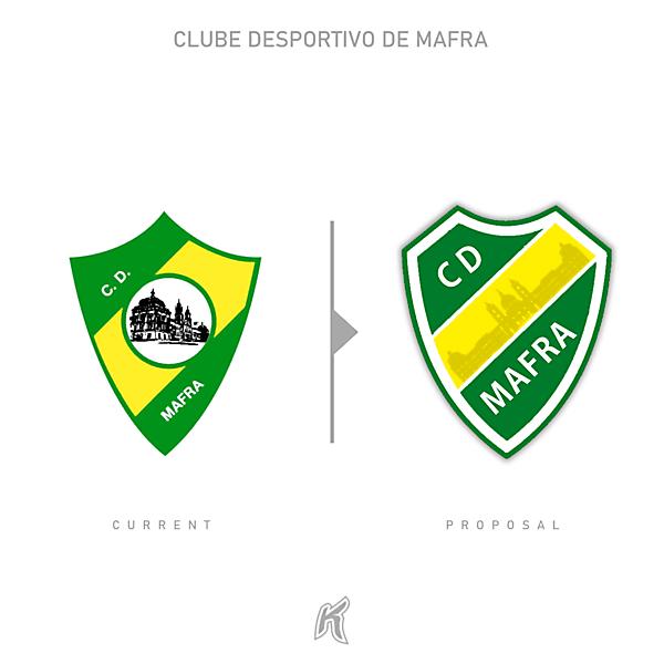 CD Mafra Logo Redesign