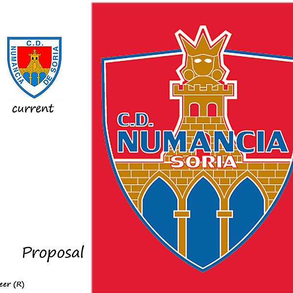 CD NUMANCIA BADGE PROPOSAL