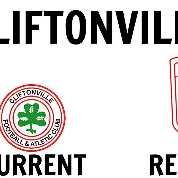 Cliftonville New Crest Design