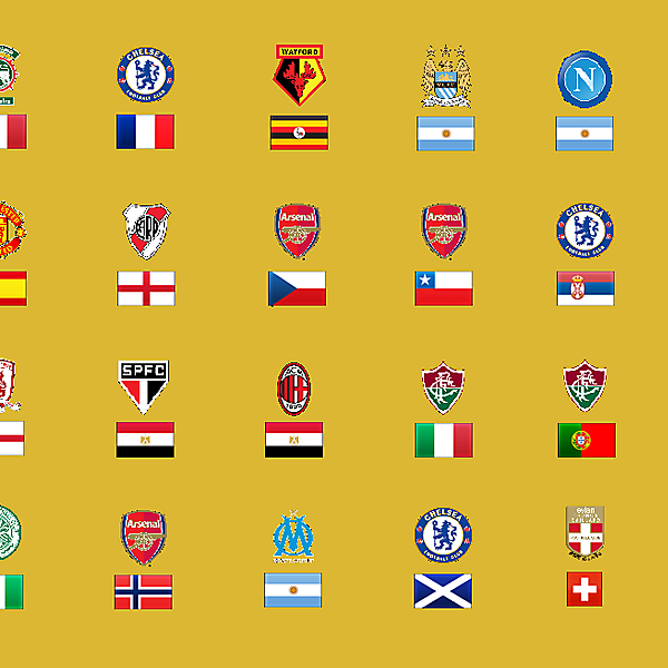 Club and Country Combos