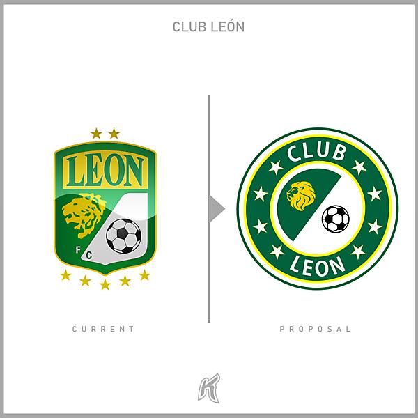 Club León Logo Redesign