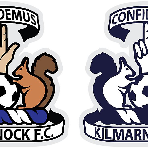 Kilmarnock FC - Coat of Arms & Crest