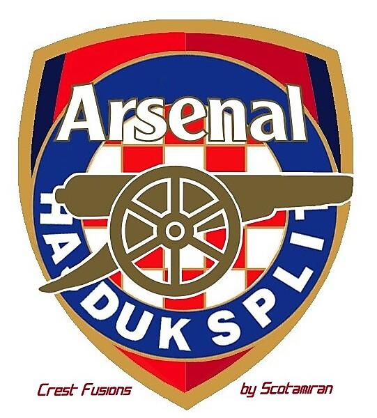 Crest Fusion - Arsenal & Hajduk Split