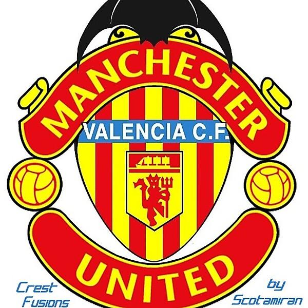 Crest Fusion - Valencia CF & Man U