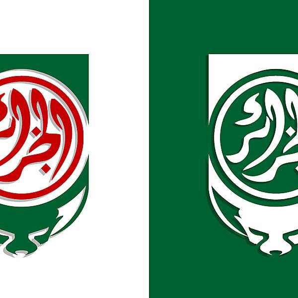 Algeria shirt crest redesign