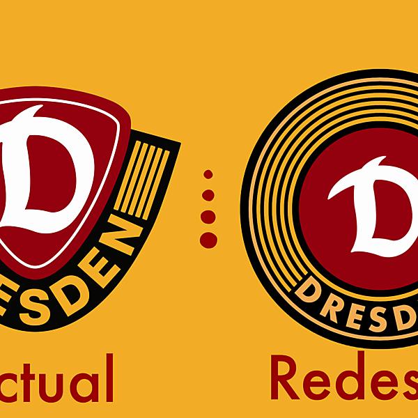 Dynamo Dresden Crest Redesign