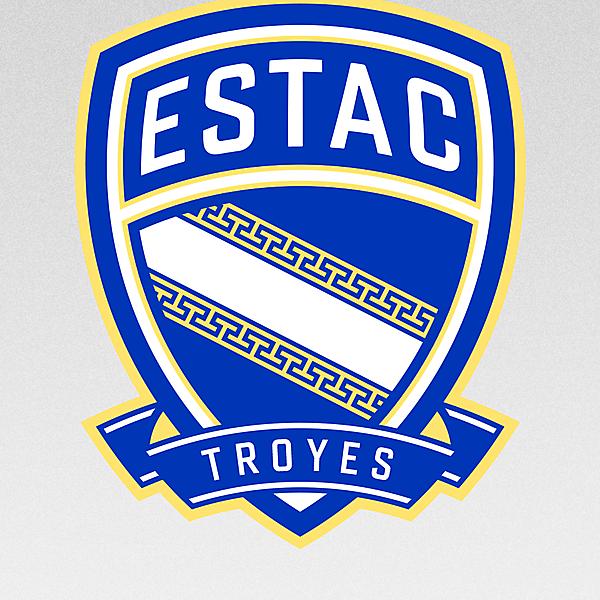 ESTAC Troyes - crest redesign